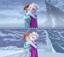 Frozen Screenshot Paintover