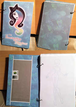 Custom Mini-ish Sketchbook