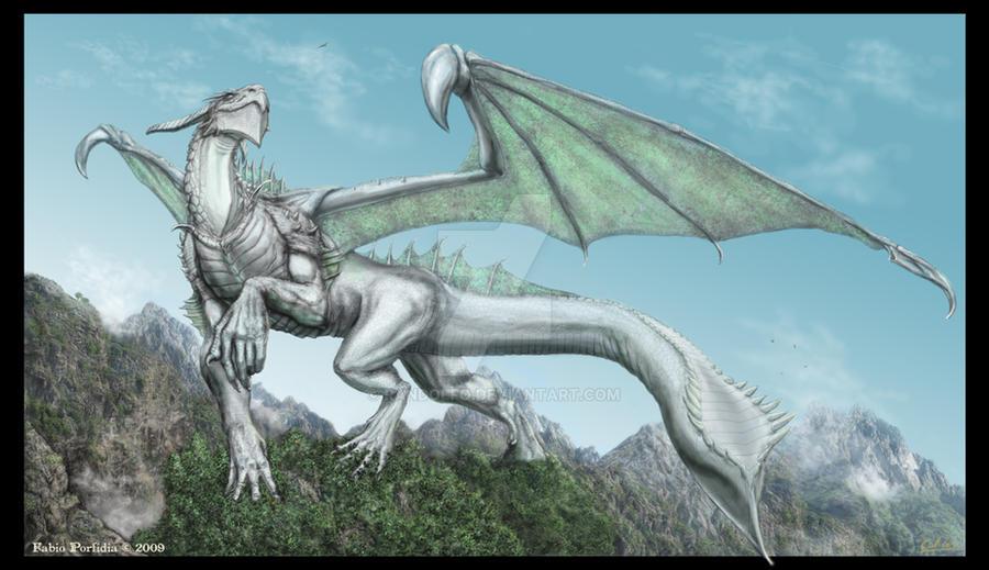Silver Dragon by randolfo