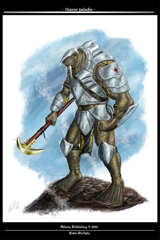 Thanor Paladin by randolfo