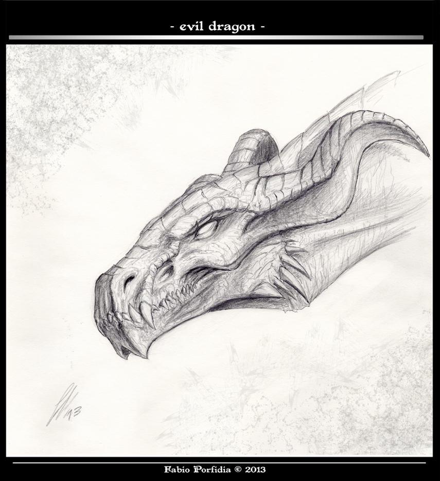 Evil Dragon by randolfo on DeviantArt