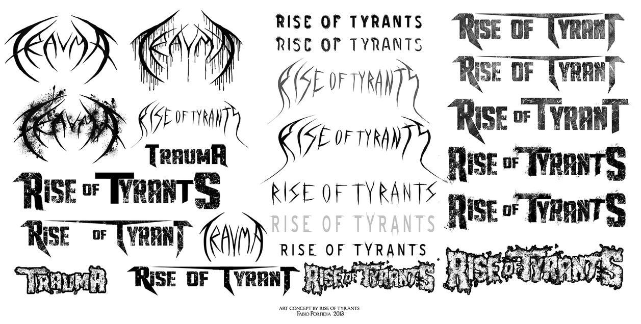 Trauma Logos by randolfo