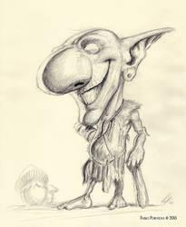 Goblin Cavernicolo by randolfo