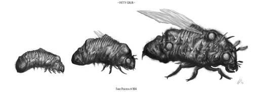 Fatty Grub by randolfo