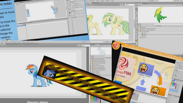 My Little Pony - Tutorials for animating