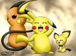Pikachu evolution line