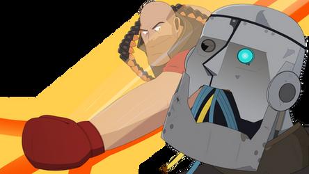 Robots! I Will Break You!