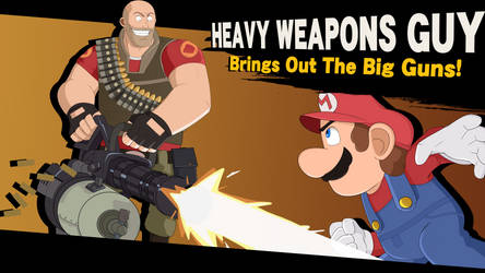 Heavy Weapons Guy Brings Out The Big Guns!