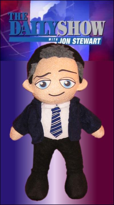 Jon Stewart - The Daily Show by Squisherific