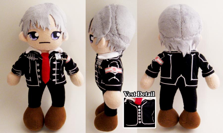Zero Kiryu - Vampire Knight by Squisherific on DeviantArt Vampire Knight Zero Full Body