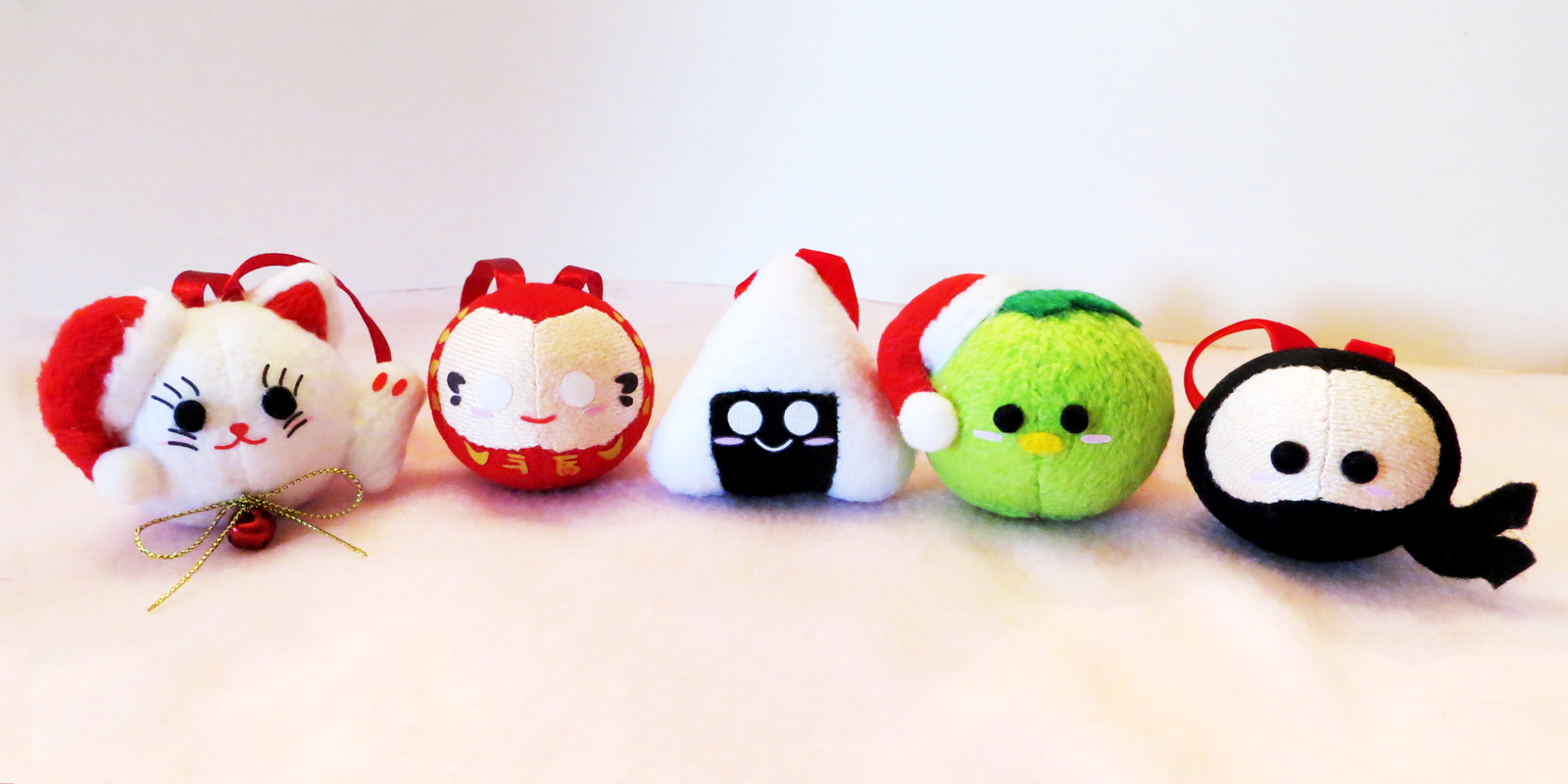 Japan-inspired Christmas Ornaments by Squisherific on DeviantArt