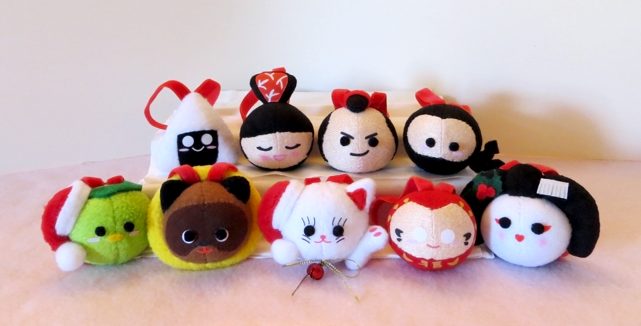 Japanese Christmas Ornaments 2013 by Squisherific on DeviantArt