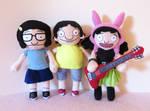 Tina, Gene and Louise Belcher - Bob's Burgers
