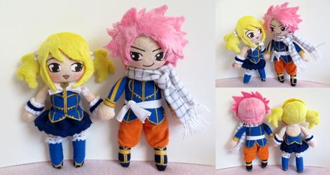 Natsu Dragneel and Lucy Heartfilia - Fairy Tail