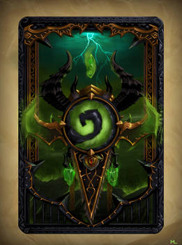 Demon Hunter Card Back