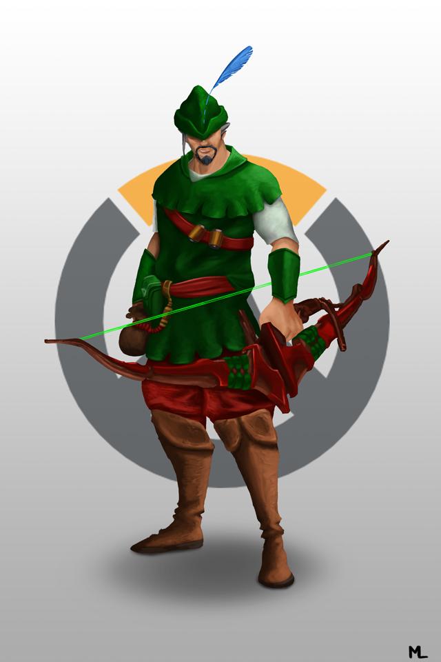 Robin Hood Hanzo by Emelart