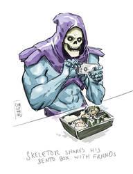 Skeletor uses Instagram too by vsRobots