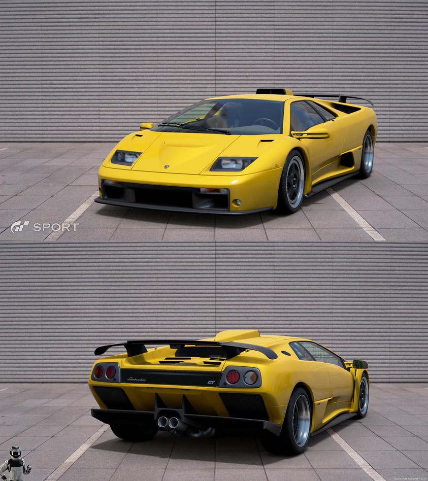 Lamborghini Diablo GT U002700 By Granturismosport ...