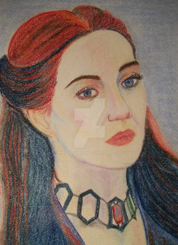 The Red Woman Melisandre from Game Of Thrones
