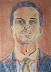 Jim Moriarty from Sherlock BBC