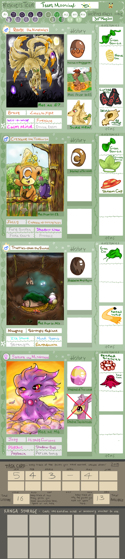 PMD-E Team Moonleaf App 2.0 by roryrrules123