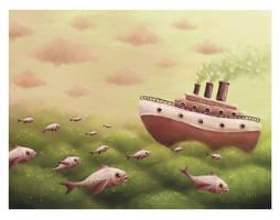 A Sea... by pesare