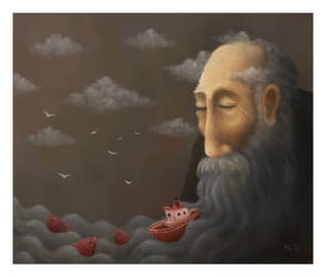 Old Man and The Sea by pesare