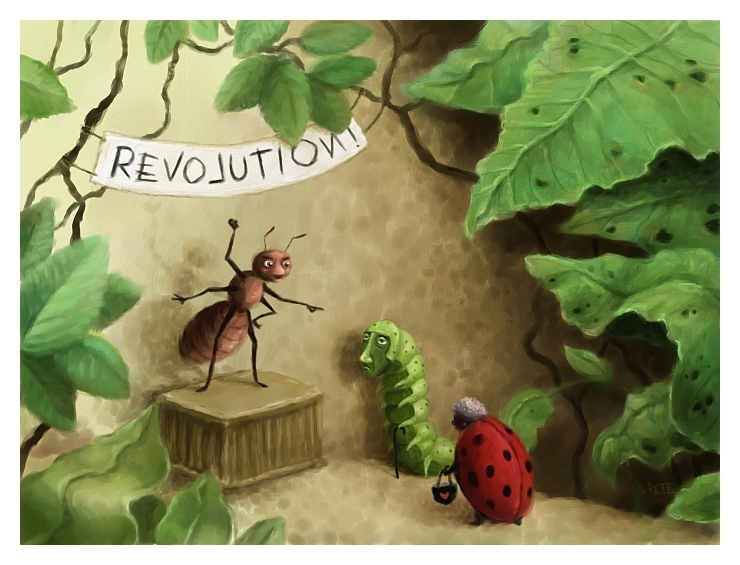 The Very Small Revolution by pesare