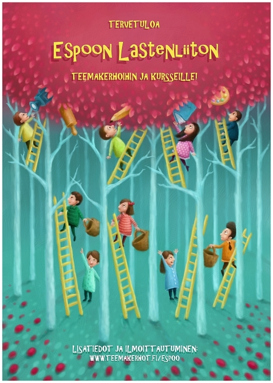 Children on Ladders by pesare