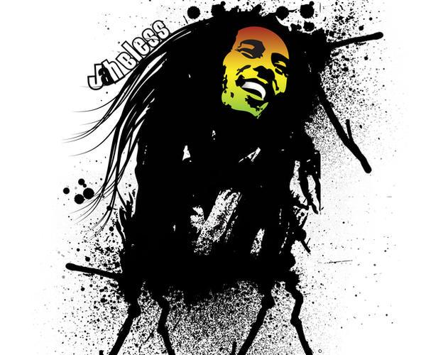 Bob Marley by degodson