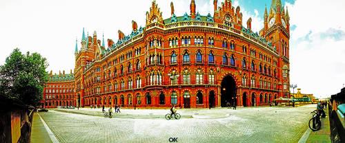 Renaissance St. Pancras Hotel by degodson