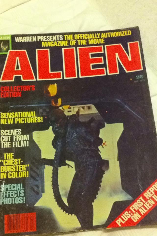 Alien Magazine by Zorceus