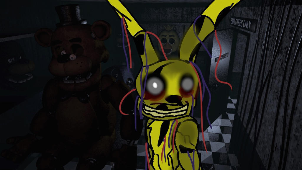 FNaF 3 Animatronic by Zorceus