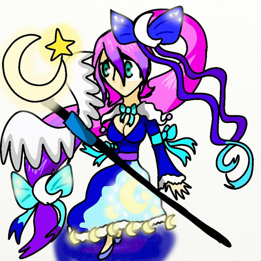 BF OC: Moonlight Empress Lunaria by Zorceus