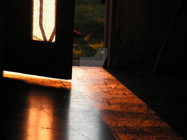 Sunset door by cmenghi