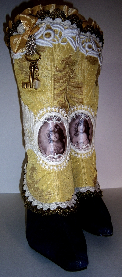 Unique Romantic Spats..Wings by MAIDESTREASURIES