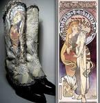 Sarah Bernhardt Unique Spats