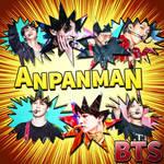 BTS ANPANMAN Album Cover - Love Yourself Tear