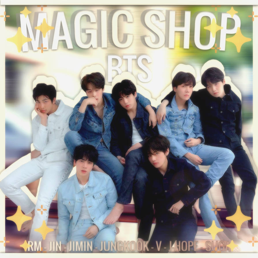 Bts Magic Shop Album Cover Love Yourself Tear By