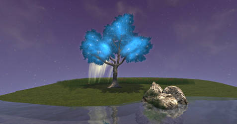 Second Life Fantasy Tree by BlackBeltPanda