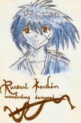 Kenshin by BlackBeltPanda