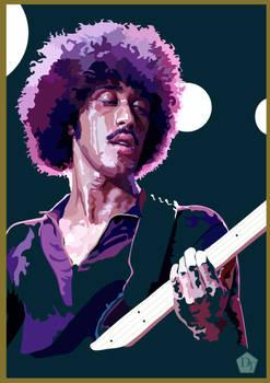 Digital Portrait of Phil Lynott