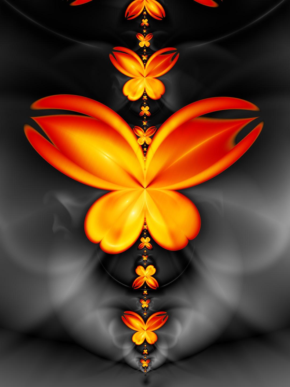 Butterflies - MeddlerInc by Ultra-Fractal