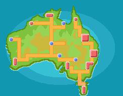 Australia Region Map