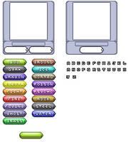 Fakemon Fakedex template by Polursine