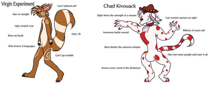 Virgin Experiment Vs. Chad Kivouack