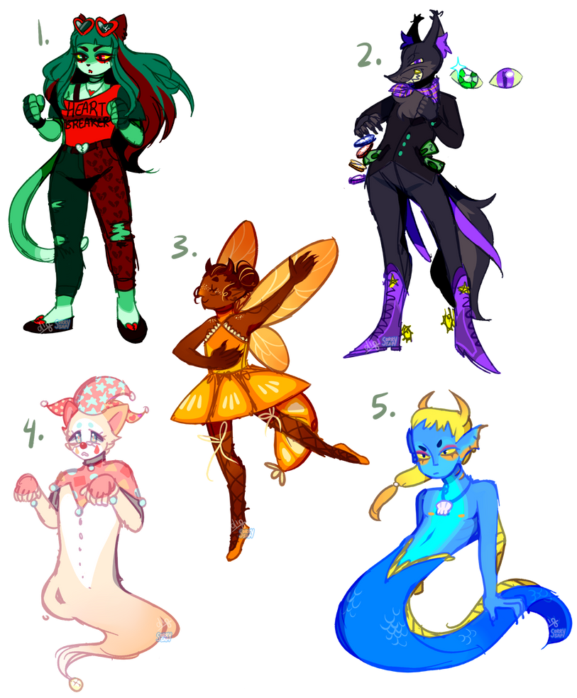 COLLAB ADOPTS OPEN! by sorrysap