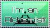 I'm an Alchemist Stamp by BLUE-F0X