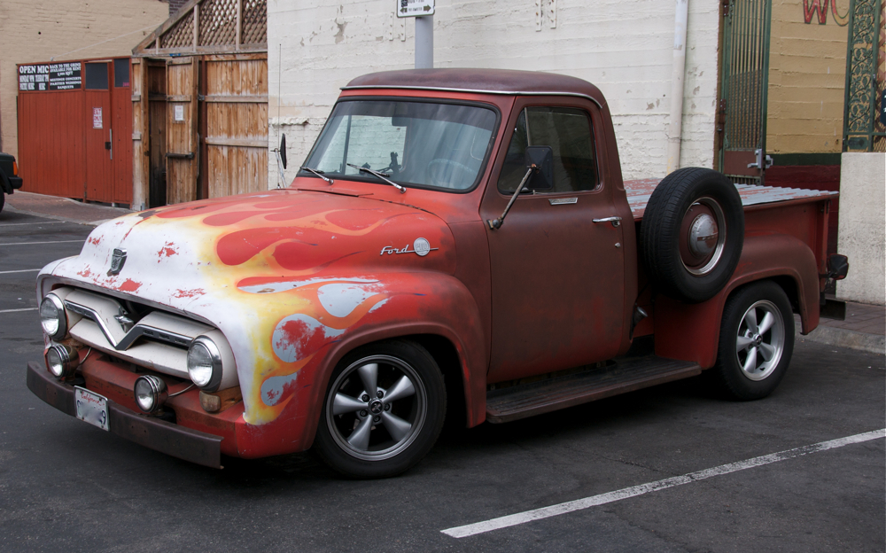 Old Red Ford Truck by MikeZadopec on DeviantArt