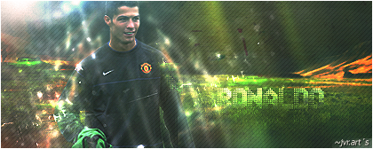 ronaldo sign by jvr-arts